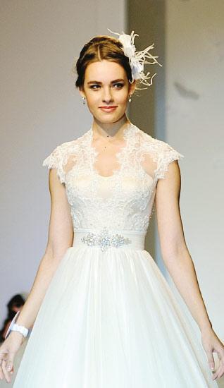 Поклонницы европейского качества оценят восхитительные свадебные платья из нежнейшего итальянского кружева